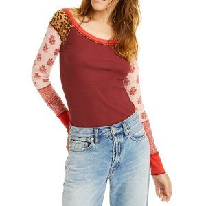 Free People Bright Side Thermal Vino Combo sz. S